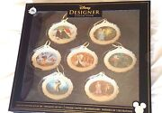 D23 Disney Designer Collection Le Of Only 300 Ornament Set Sold Out
