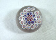 Extravagant Rare Paperweight France Baccarat About 1900