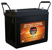 Vmax Mr147-155 12v Agm Marine Battery For Minn Kota Maxxum 55lb Trolling Motor