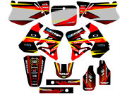1995 1996 Cr 250 Graphics Kit Cr250 250r R Deco Cr250r Decals Stickers