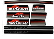 Mercruiser The New 2019 Most Complete Alpha One Gen One W/gray Rams Sticker Set