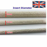 Cotton Cover Cable Wire Tube Sleeve Textile Fabric 2mm 4mm 6mm 8mm Protective