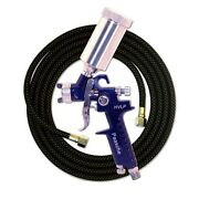 Paasche Hvlp Spray Gun .8mm Head And 10' Hose - Great For Cerakote And Duracoatnew