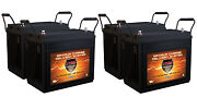 Qty4 Vmax Mr147-155 Agm Batteries For 48v Electric Trolling Outboard Motors