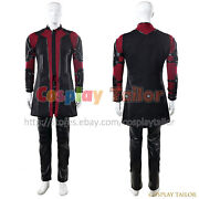 The Avengers 2 Age Of Ultron Hawkeye Cosplay Clint Barton Costume Party Uniform