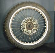 93 94 95 Suzuki Rm 250 Rm 125 Front Wheel Front Rim Complete Assembly 1993 Rm250