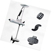 Haswing Cayman 24v 80lbs Bow Mount Electric Trolling Motor White 60 Shaft With