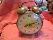 Vintage S 1960and039s/70and039s Lux Alarm Clock Sunshine Used Condition