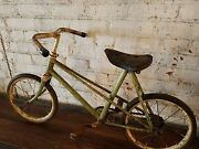 Antique Childand039s Bicycle From France
