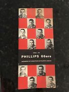 Phillips 66'ers 1964-1965 Basketball Press/media Guide -excellent Condition