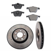 2 Front Brakes Rotors Brake Rotor Pad Set Kit For Cars With 316mm Disc For Volvo