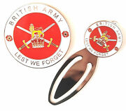 British Army Military Crested Commemorative Collectors Coin And Bookmark