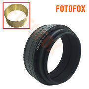 Brass M65 To M65 Adjustable Focusing Helicoid Adapter 17-31mm Macro Tube M65-m65
