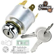 Classic Vintage Custom Kit Car 4 Position Universal Replacement Ignition Switch