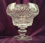 Vintage Waterford Crystal Centerpiece Bowl 9