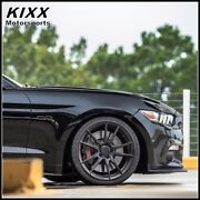 20 Rohana Rf2 20x9 20x10 Forged Black Concave Wheels For Ford Mustang