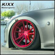 20 Rohana Rf2 20x10 20x11 Red Forged Concave Wheels For Infiniti G35 Coupe