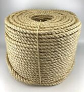 New Natural Sisal Rope Coils Cats Garden Decking Pets Cat Scratching Post