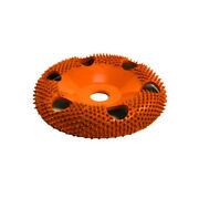Saburr Tooth 4 Donut Wheel 7/8 Bore With Holes Round Face Ex-coarse - Dw4125h