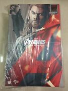Hot Toys Mms 306 Avengers Age Of Ultron Aou Thor Chris Hemsworth Figure New
