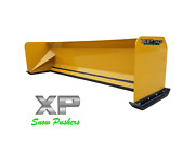 10and039 Xp30 Cat Yellow Snow Pusher - Backhoe Loader - Local Pick Up