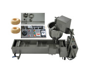 New Ce Approved Commercial Automatic Donut Fryer/maker Making Machine3 Set Mold