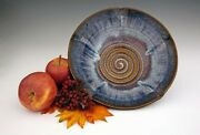 """BILL CAMPBELL Pottery Bountiful Bowl 10""""  - 4.5 cups Porcelain Bowl"""
