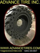 Solid Backhoe Tire And Rim 36x12-20 Ta 14-17.5 Solid Tires 12.5/80-18 Tires
