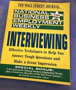 National Business Employment Weekly      Interviewing