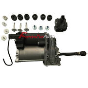 Air Suspension Compressor And Relay Kit For Bmw X5 E70 2007-2013