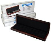 Coin Collection Set Box For 5 2x2 Quadrums Or Bcw Plastic Holders Safe Storsge