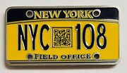 Usss Electronic Crimes Task Force New York Field Office Licence Plate Coin 764