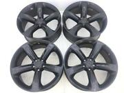 20 20 Inch Oem Factory Black Dodge Charger Rt R/t Wheels Rims Set Of 4 2529used