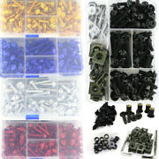Motorcycle Complete Fairing Bolt Bodywork Kit Nuts Fit For Yamaha Yzf Fz Tmax