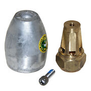 Anode, W/prop Nut Aluminum Bravo Iii 2003 And Older 809666a03