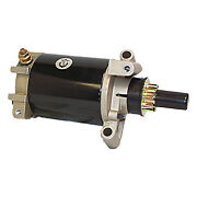 Starter Motor 10 Tooth Mes Johnson Evinrude 30hp Mirage 1994 And Up 586277