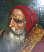 Portrait Painting Picture Oil On Canvas 19 Jh Collection Dissolution