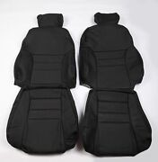 Ford 96-98 Sn-95 Modular Svt Mustang Cobra Real Leather Seat Covers Front Rear