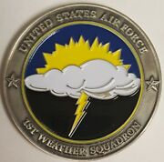 Usaf 1st Weather Squadron Presented By The Commander For Excellence 156 1.75