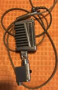 Vintage 1960s Calrad Dm-16 H.l Dynamic Microphone Dual Z Midland With Connector