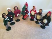 Lot Of Byers' Choice Boy And Girl Carolers 1990-1991