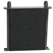 Derale Oil Cooler 54012 Series 10000 13.000 40 Row Aluminum Stacked Plate