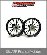 Galespeed Type S 15 Spoke Black Forged Alloy Wheels Bmw S1000rr 2009