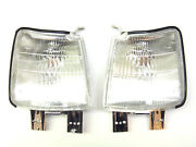 Front Right + Left Corner Lamps New One Set Fits Toyota Carina Ii 2 1984-1987