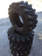 4 New Hd 14-17.5 Camso Sks532 Skid Steer Tires For Bobcat 14x17.5-14 Ply Rating