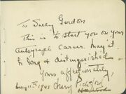 Mary Pickford - Autograph Note Signed 05/11/1945