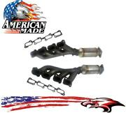 Front Manifold Converter Made In Usa For Cadillac Srx 04-09 And Sts 05-10 4.6l Awd