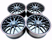 """19"""" 19 Inch New Mercedes-benz Amg Red Line Amg Replica Wheels Rims C Class Set 4"""