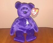 7 Ty Beanie Babies - Princess Diana 1997 Rare Plus More In Great Condition