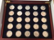Silver Walking Liberty Half Dollar Complete Set Collection 1916 - 1947 [25 Coins